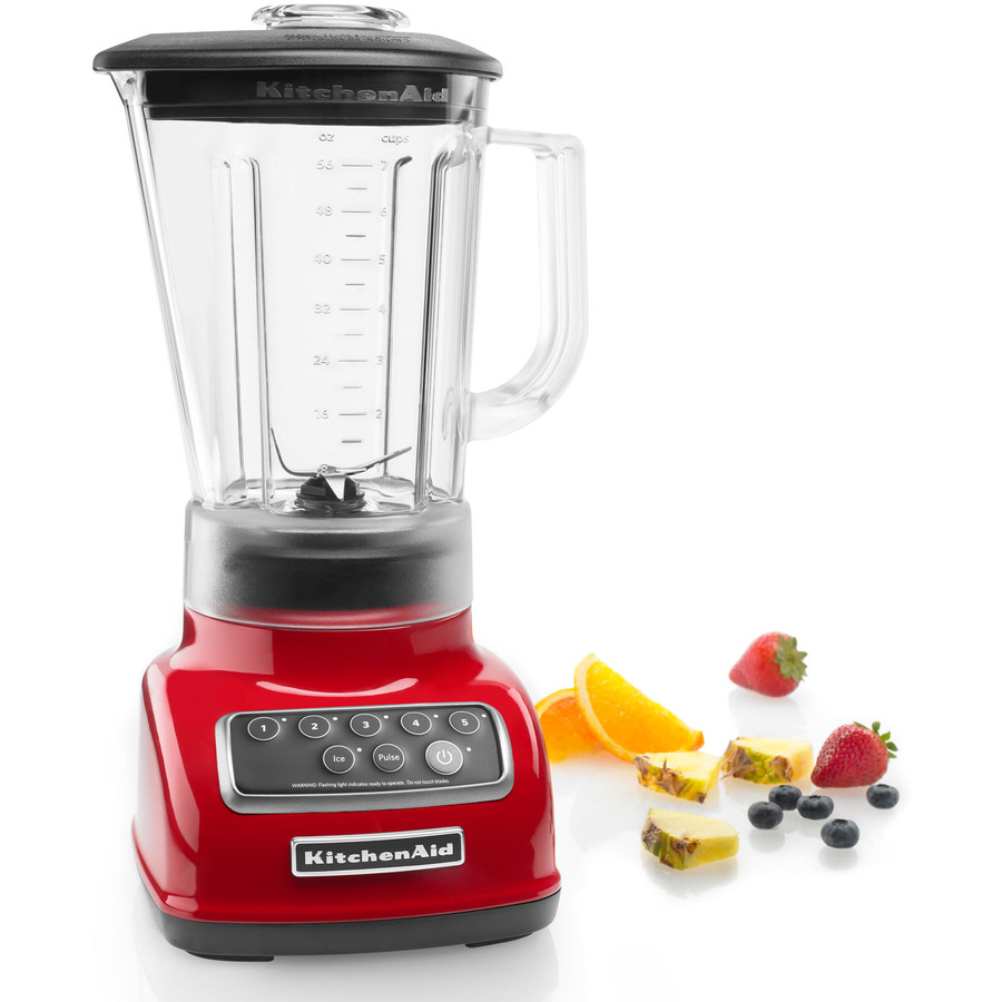 Kitchenaid 5 Speed Blender kitchenaid 5 speed blender empire red (ksb1570er) - walmart