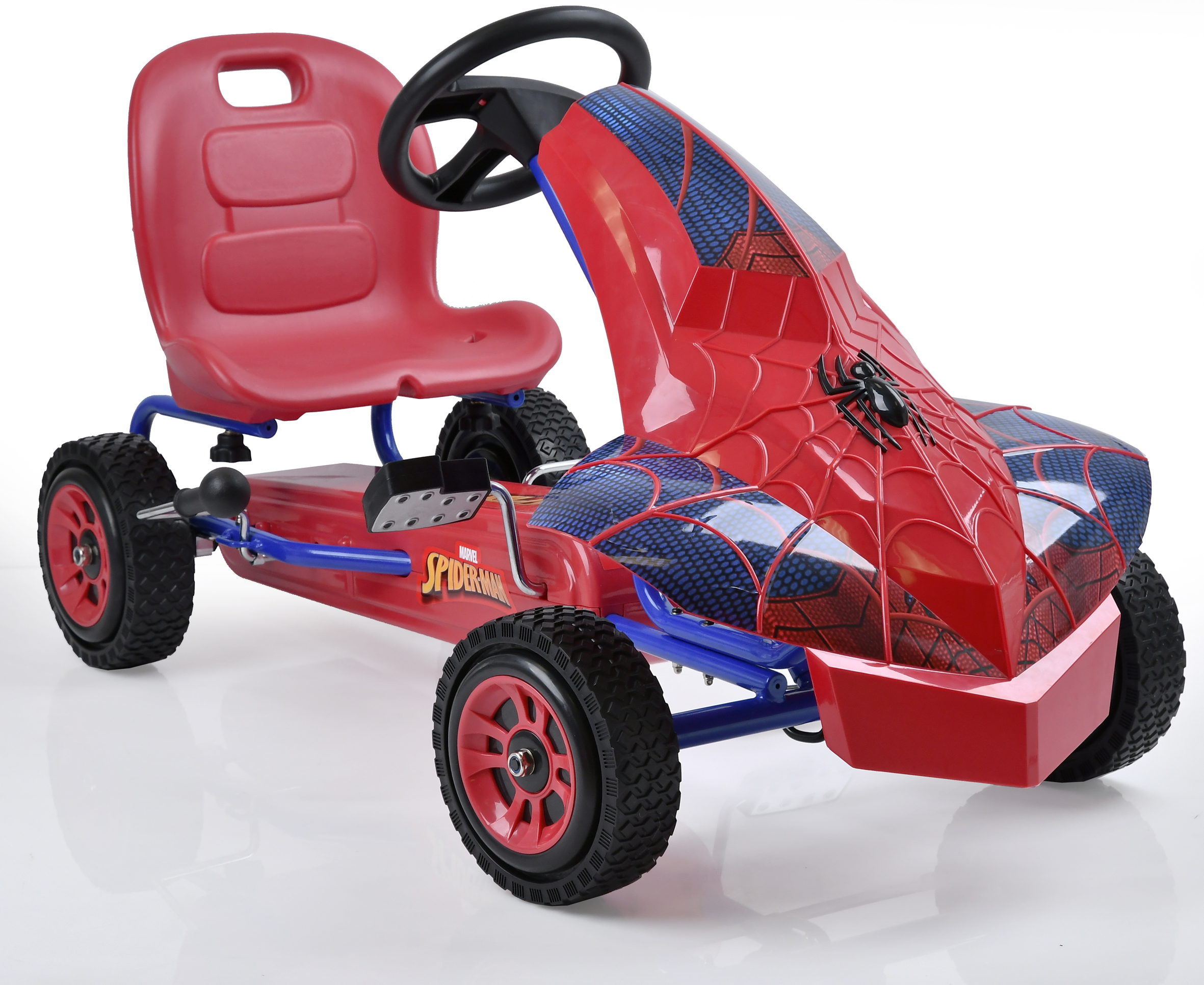 Marvel Spider-Man Pedal Go Kart by Hauck