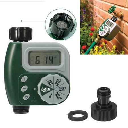 Outdoor Garden Hose Sprinkler Irrigation Controller Solenoid Valve Timer ()