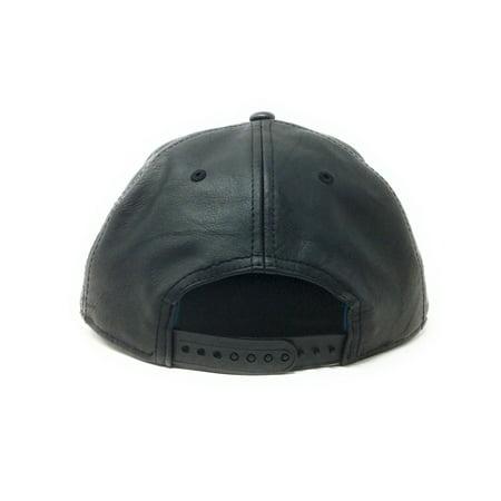 3dea26aaa Bioworld Licensed Batman Rebirth Suit Up PU Leather with Metal Logo Black  Snapback Hat