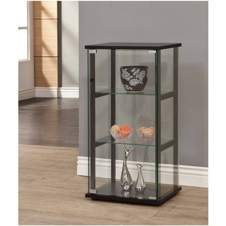 Coaster Company Glass Curio and Simple Black Frame ()