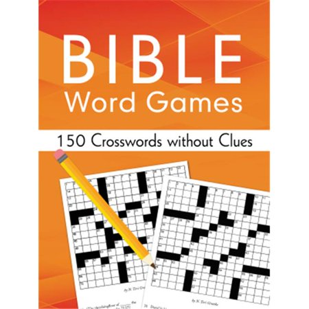 Barbour Publishing 066219 Bible Word Games - 150 Crosswords Without Clues ()