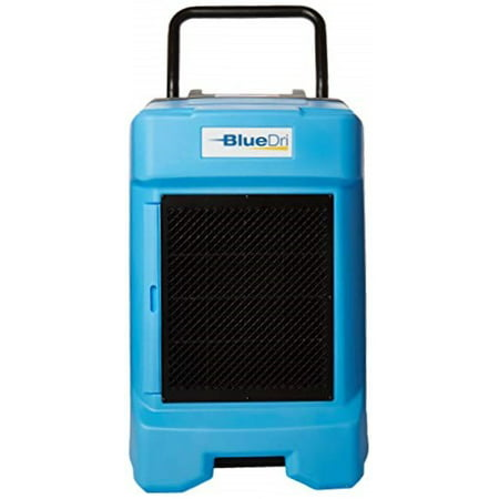 BlueDri BD-130P 225PPD Industrial Commercial Dehumidifier with Hose for Basements in Homes and Job Sites, Blue (Dehumidifier Commercial)