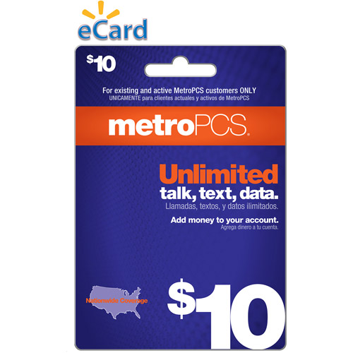 (Email Delivery) MetroPCS Monthly Unlimited $10