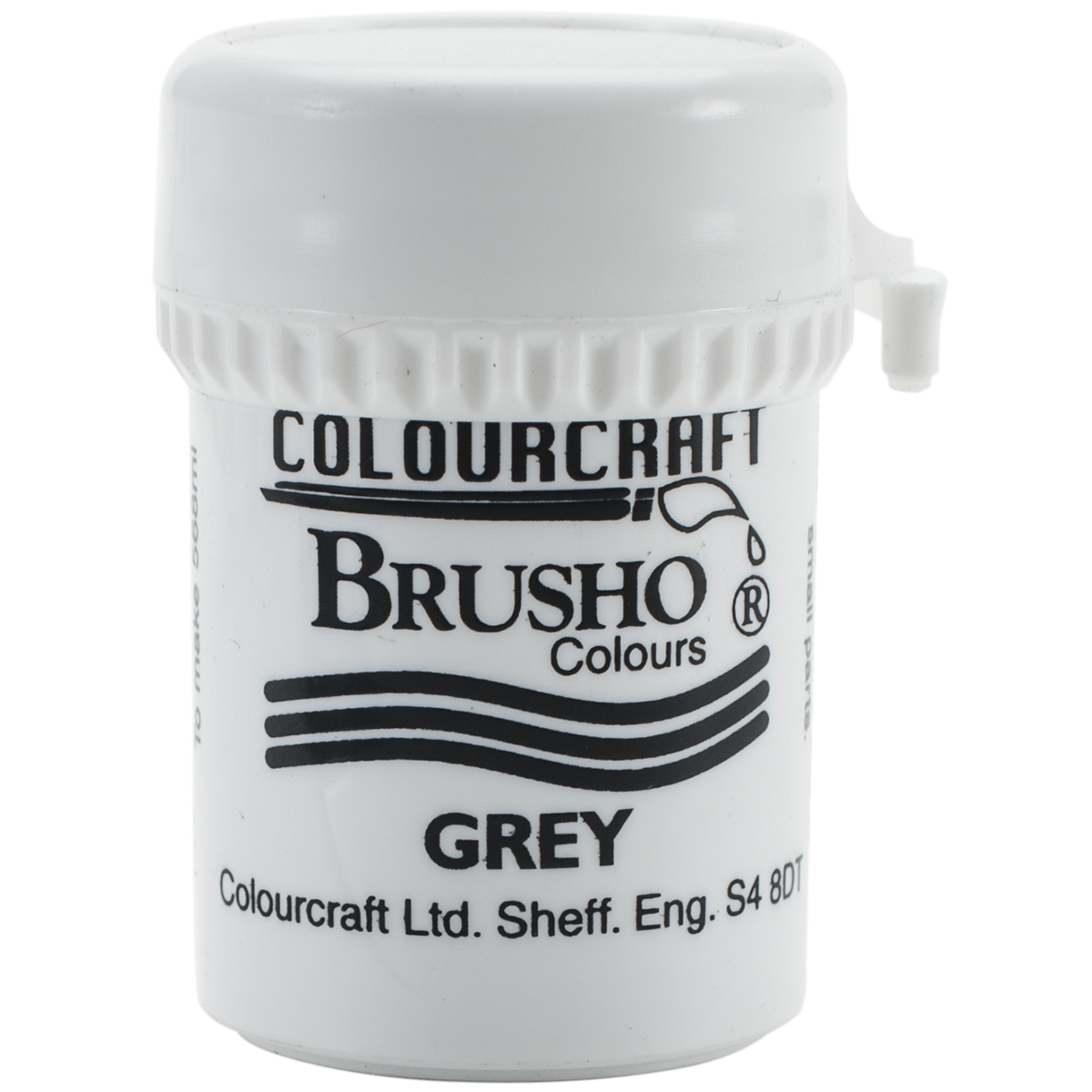 Brusho Crystal Colour 15g-Grey
