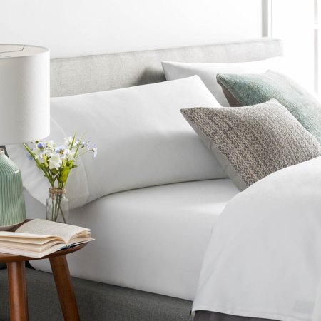 Brookside Cotton Blend Sheet Set- Rich Cotton Feel- Polyester