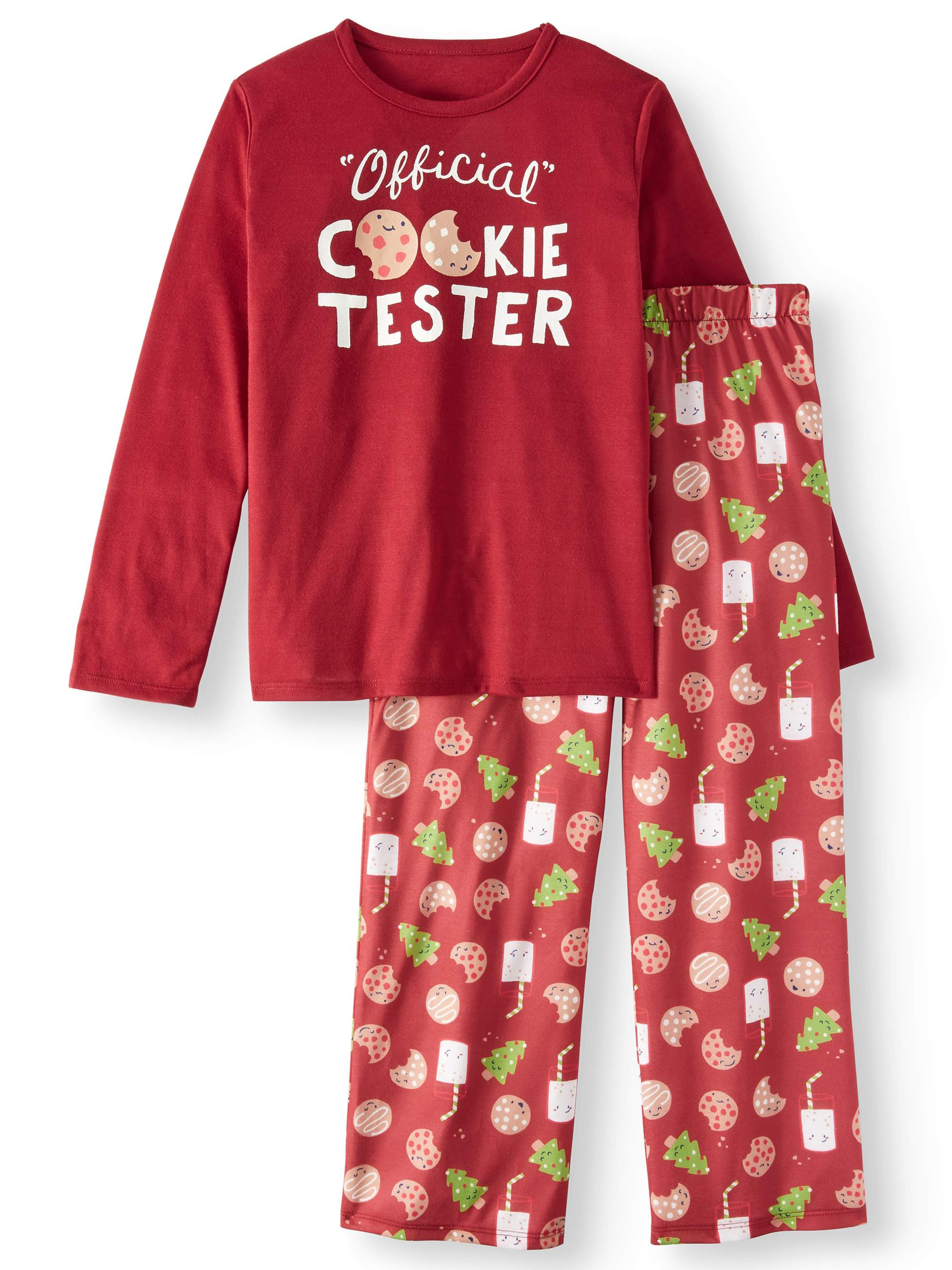 Toast & Jammies Boy's Long Sleeve Tee and Pant PJ Set