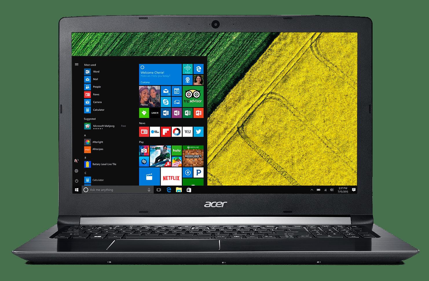 """Acer Aspire 5 A515-51-75UY, 15.6"""" Full HD (1920 x 1080), 7th Gen Intel Core i7-7500U, 8GB DDR4, 1TB HDD,... by Acer"""