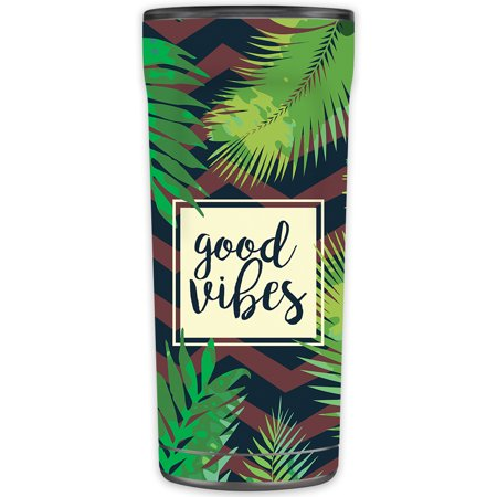 Skin Decal Wrap for OtterBox Elevation Tumbler 20 oz sticker Be Happy -  Mightyskins, OTEL20-Vibes