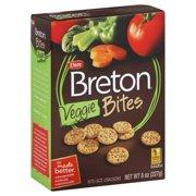 Dare Foods Breton Breton Bites Crackers, 8 oz