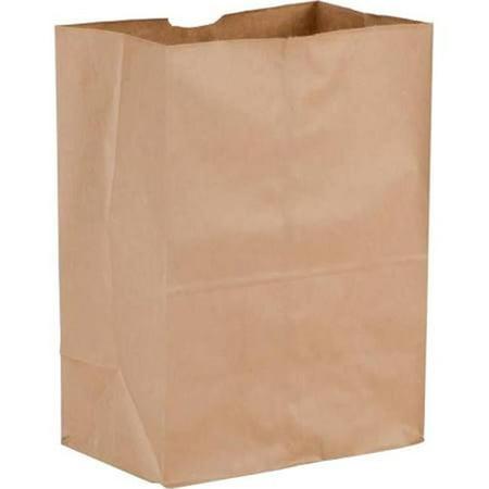 80083 CPC 0.13, 57 lbs Brown Paper Barrel Sack - Case of 500 - image 1 de 1