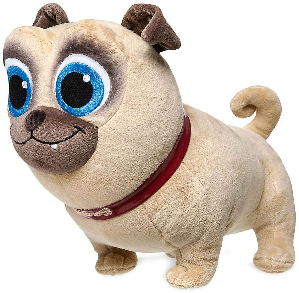 Disney Junior Puppy Dog Pals Rolly Plush Walmart Com
