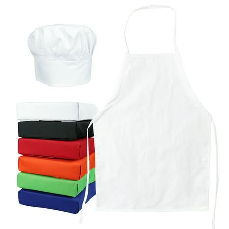 33d84173c9c58 Tessa s Kitchen Club Kids -Child s Chef Hat Apron Set