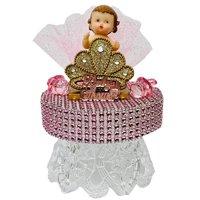 "Baby Shower Princess Girl Cake Topper Decoration Keepsake Gift 6.5"" H"