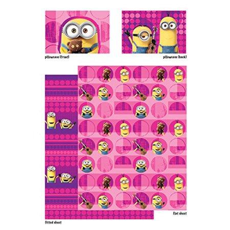 Minion Sheet Set (Minions 'Girl Buddy' Buddy Twin Sheet Bedding)