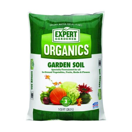 expert gardener organic garden soil 1cf - Walmart Garden Soil