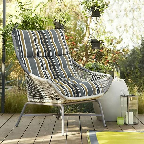 Romhouse Outdoor Chair Cushion Soft Comfortable 44x21x5 Inch Walmart Com Walmart Com