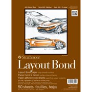 Strathmore Layout Paper Pad, 400 Series, 11in x 14inin