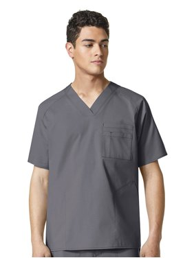 a15108f3e32 Product Image WonderFLEX by WonderWink Men's V-Neck Solid Scrub Top