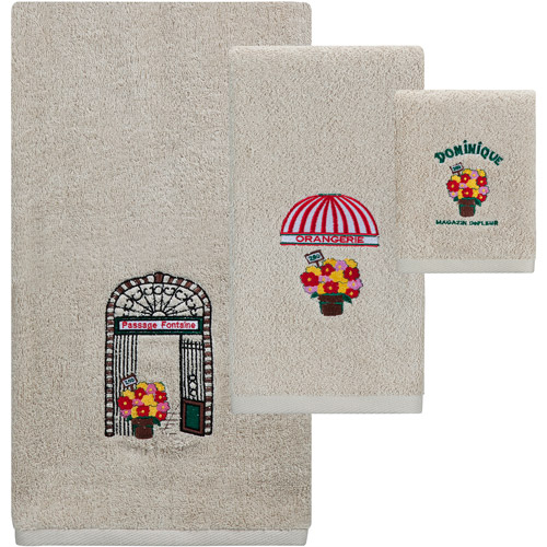 Creative Bath Rue de Rivoli 3-Piece Towel Set