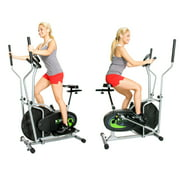 Body Rider 2-in-1 Fitness Machine w/ Elliptical Trainer & Stationary Exercise Bike BRD2000