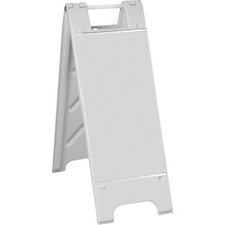 Plastic A-Frame With Channels, White, Small,