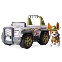 Paw Patrol, Jungle Rescue, Trackers Jungle Cruiser, Vehicle and Figure