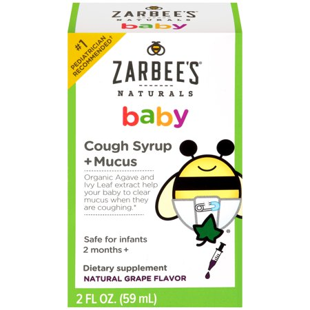 Zarbee S Naturals Baby Cough Syrup Mucus Dietary