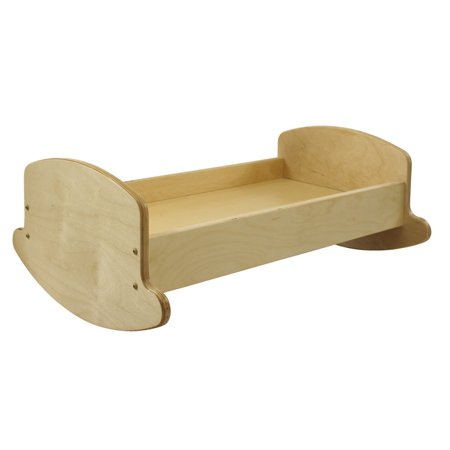 Childcraft Baby Doll Cradle, 25-1/4 x 18 x 10 Inches