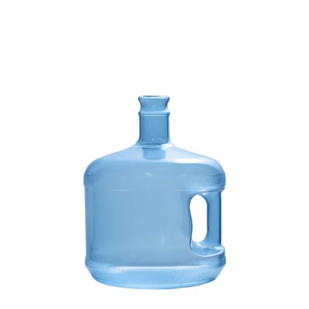 3 Gallon Polycarbonate Plastic Crown Cap Water Bottle Container (Made in USA) (Plastic Water Bottles In Bulk)