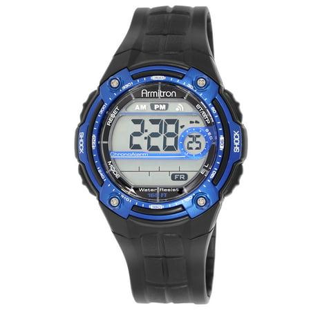 Men's Sport Blue Round Watch