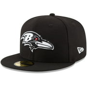 Baltimore Ravens New Era B-Dub 59FIFTY Fitted Hat - Black