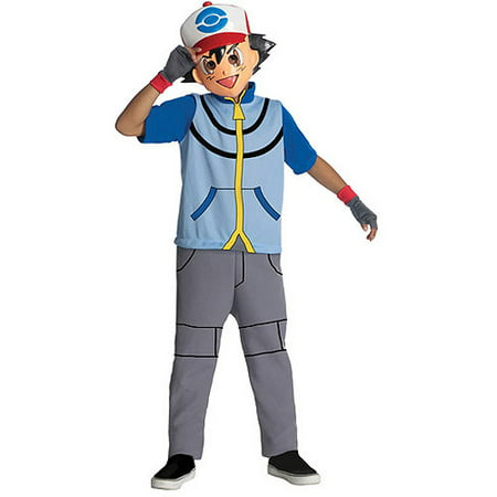Pokemon Ash Costumes (Pokemon Ash Child Dress-Up)