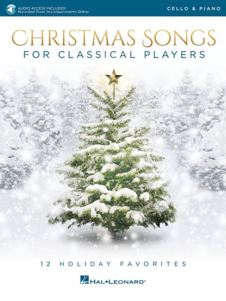 Christmas Songs for Classical Players, Cello and Piano by