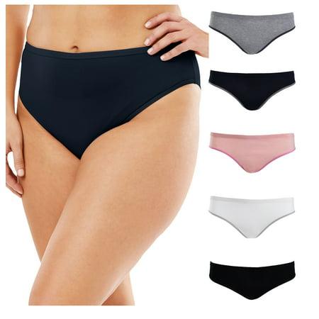 Emprella Womens Plus Size Bikini Brief Panties -5 -