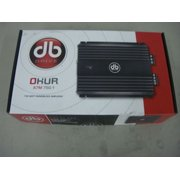 db Drive A7M 1250.1 Okur A7M Series 1250 w X 1 @ 1ohm Mini Monoblock Amplifier