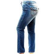 Jack David Womens Plus Size Blue Denim Jeans Pants Curvy Stretch Skinny Fit