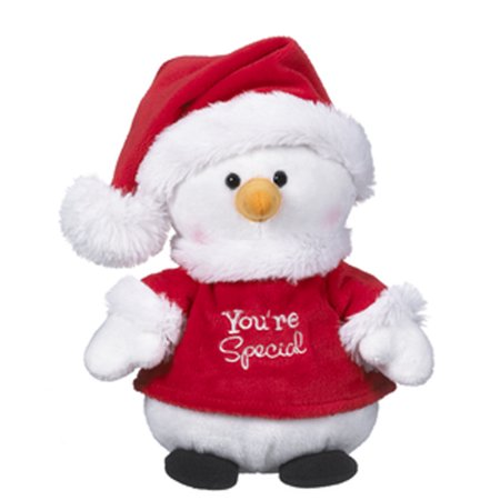 Santa Outfit Plush Snowman: You're Special - By - Snowman Outfit