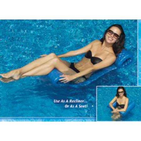 "74"" Water Sports Sofskin Floating Swimming Pool Hammock Raft"