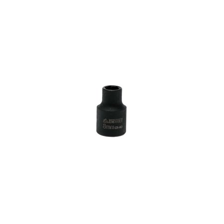 Teng Tools 8mm 3/8 Inch Drive 6 Point Regular Metric Impact Socket -