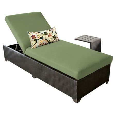 TK Classics Belle Wicker Outdoor Chaise Lounge ()