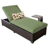 TK Classics Belle Wicker Outdoor Chaise Lounge