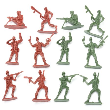 270 pcs Military Playset Plastic Toy Soldier Army Men 4cm Figures & Accessories - image 5 of 12