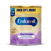 Enfamil Gentlease Infant Formula for Fussiness, Gas, and Crying - Powder, 29.1 oz Can
