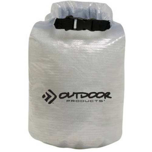 Outdoor Products, 20L Valuables Dry Bag, Clear