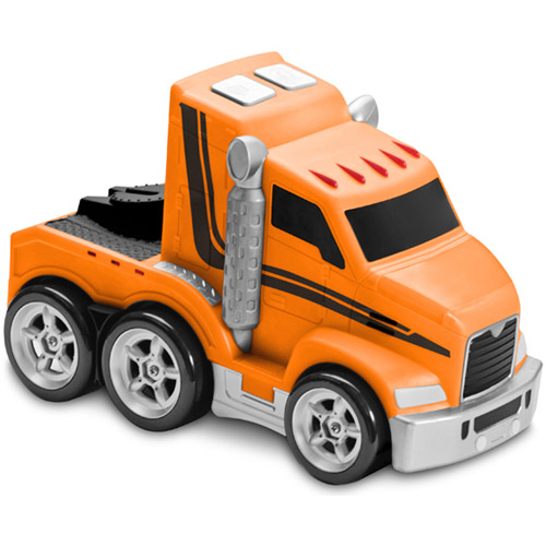 Kid Galaxy Soft, Safe and Squeezable Jumbo Light and Sound Big Rig