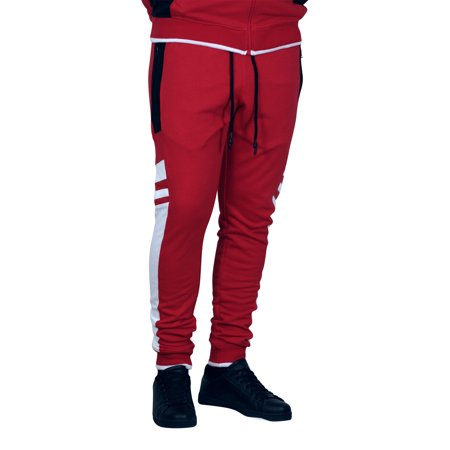 Jordan Craig French Terry Roma Joggers Red