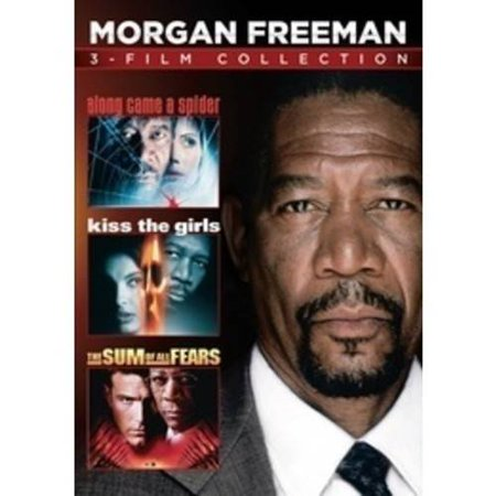 Morgan Freeman 3 Film Collection  Along Came A Spider   Kiss The Girls   The Sum Of All Fears  Widescreen