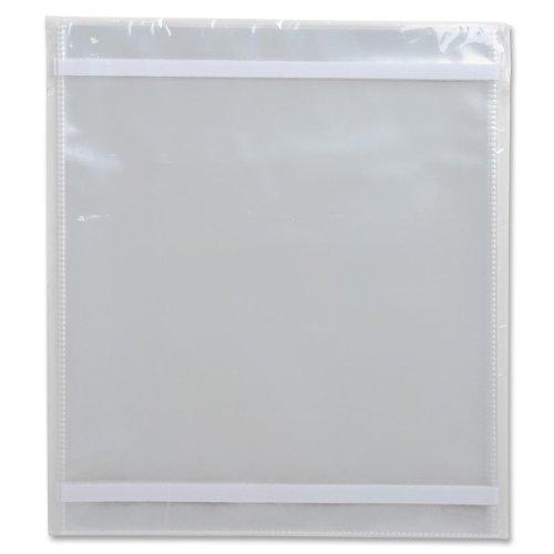 Business Source Vinyl File Pocket Folder (10 Per Box) (Set of 3)