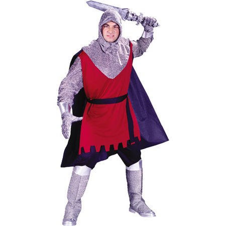 Medieval Knight Adult Halloween Costume - One Size Up to 200 lbs